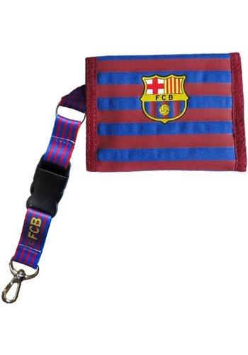 FC Barcelona Portemonnee barcelona rood/blauw bars (5004CBH)