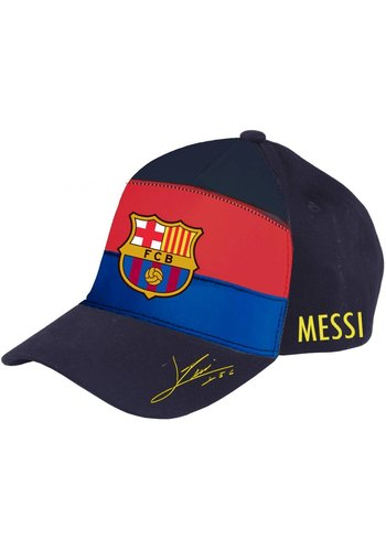 Messi Cap barcelona rood/blauw junior: Messi (5001GPMP)
