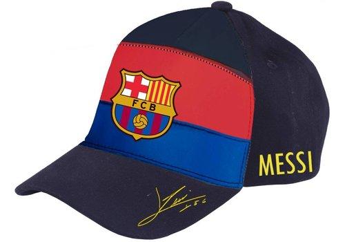 Messi Cap barcelona rood/blauw junior: Messi (5001GPMP)