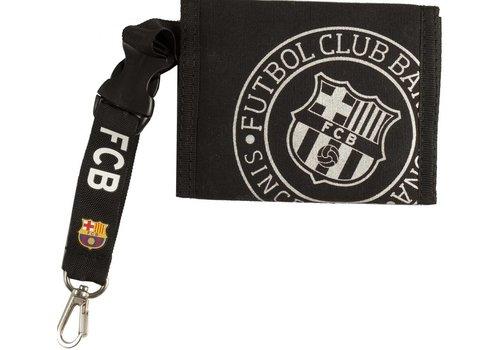 FC Barcelona Portemonnee barcelona zwart/zilver (5004CNP)