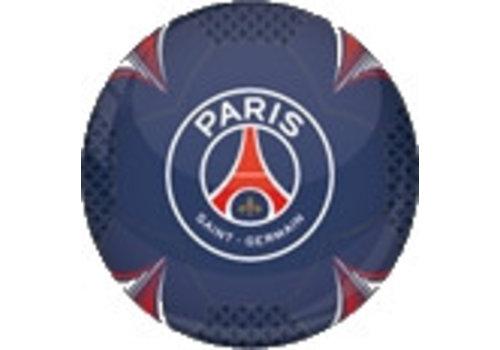 Bal Paris Saint-Germain leer groot blauw shiny (P10921)