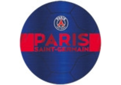 Bal Paris Saint-Germain leer groot blauw metallic (P10922)