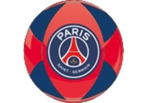 Bal Paris Saint-Germain leer groot rood/blauw (P10926)