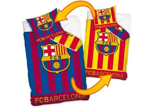 FC Barcelona Dekbed barcelona 2-zijdig (FCB16_8011): 140x200/70x80 cm