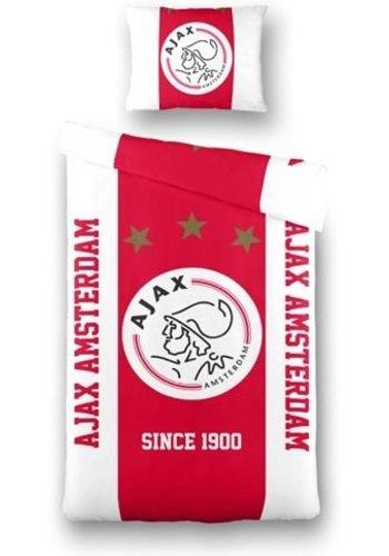 AJAX  Dekbed ajax rood/wit Amsterdam: 140x200/60x70 cm