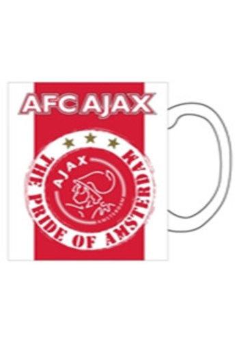 AJAX  Mok ajax rood/wit pride