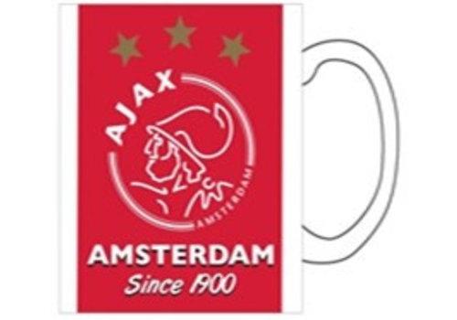 AJAX  Mok ajax rood/wit 1900