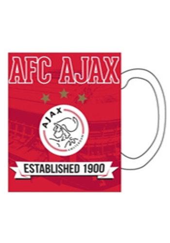 AJAX  Mok ajax rood 1900