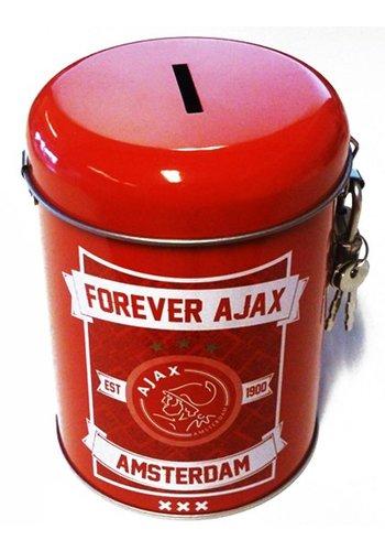AJAX  Spaarpot ajax rood forever