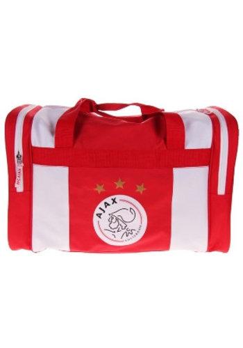 AJAX  Sporttas ajax rood/wit logo: 50x28x30 cm