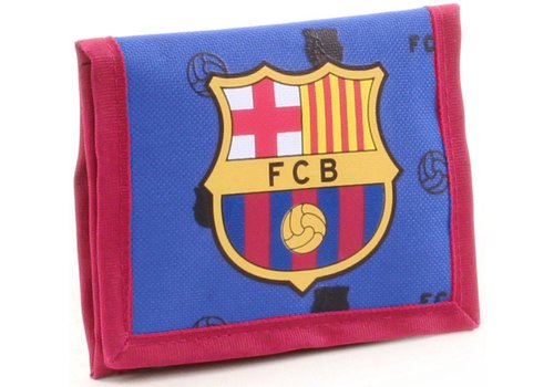 FC Barcelona Portemonnee barcelona: 9x12 cm (490-8126)