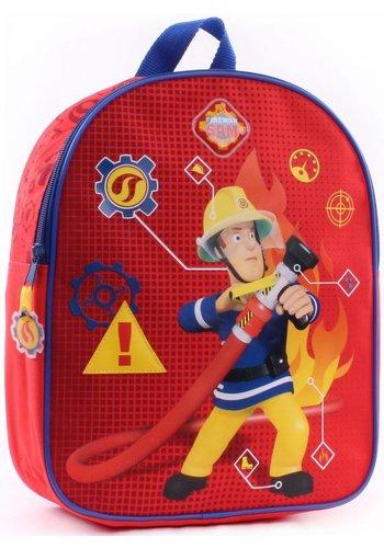 Brandweerman Sam Rugzak Brandweerman Sam: 31x25x10 cm (900-8007)