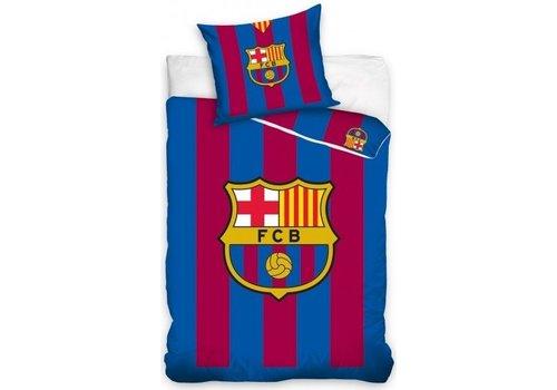 FC Barcelona Dekbed barcelona stripes (FCB8018): 140x200/70x80 cm
