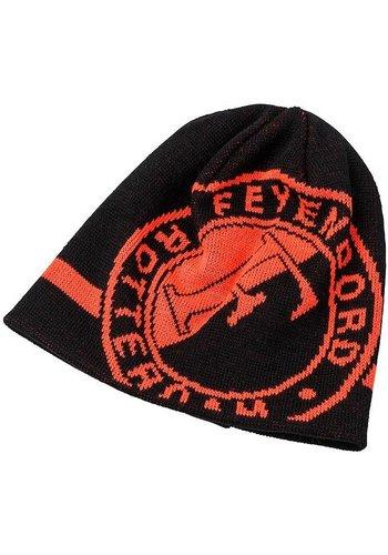 Feyenoord Muts feyenoord senior zwart/oranje