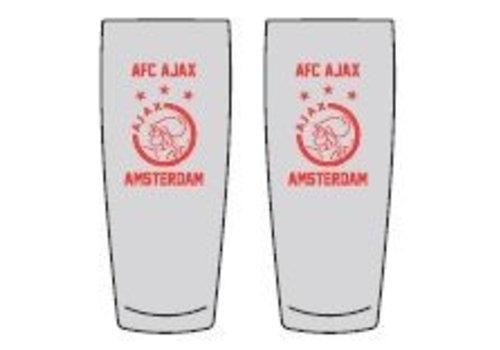 Ajax  Bierglas ajax fluitje: 2-pack