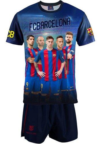 FC Barcelona T-shirt/short barcelona spelers (KFI7E)