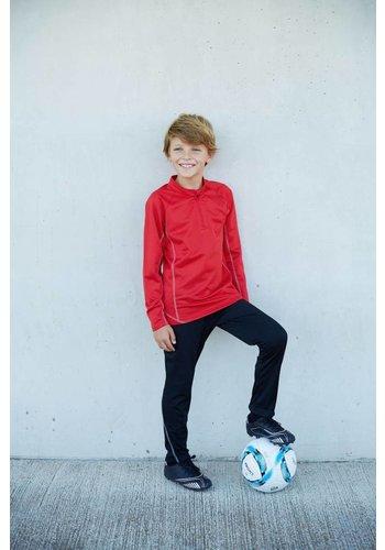 Proact Kids' 1/4 Zip Running Sweatshirt