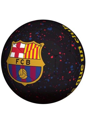 FC Barcelona Bal barcelona straat zwart logo mes que (109885)