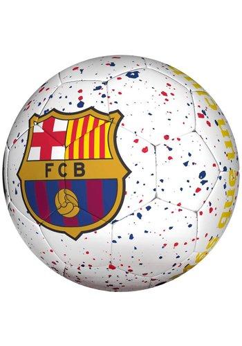 FC Barcelona Bal barcelona straat wit logo mes que (110067)