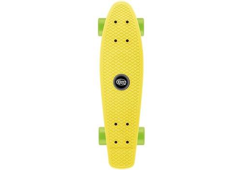 Osprey Skateboard Osprey/Xootz single: geel 56 cm/ABEC5 (TY5721)