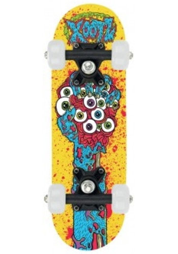 Osprey Skateboard Osprey/Xootz mini: geel 43 cm/608z (TY5755C)