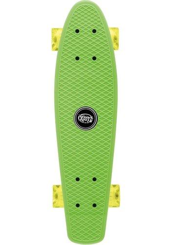 Osprey Skateboard Osprey/Xootz LED: groen 56 cm/ABEC5 (TY5726)
