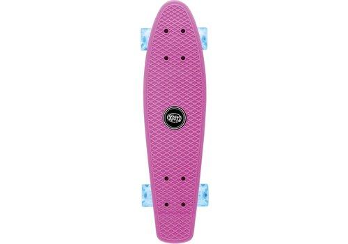 Osprey Skateboard Osprey/Xootz LED: roze 56 cm/ABEC5 (TY5728)