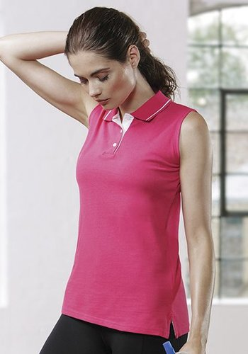 Gamegear Ladies Sports Sleeveless Polo.