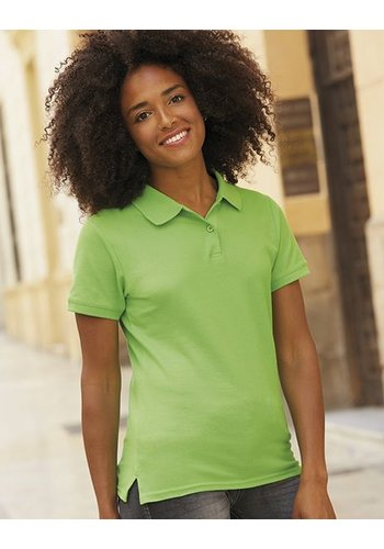 Fruit of the Loom polo shirt damesmodel 2 pack
