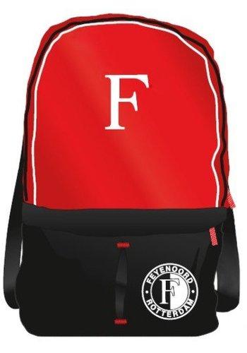 Feyenoord Rugzak feyenoord groot zwart/rood/wit