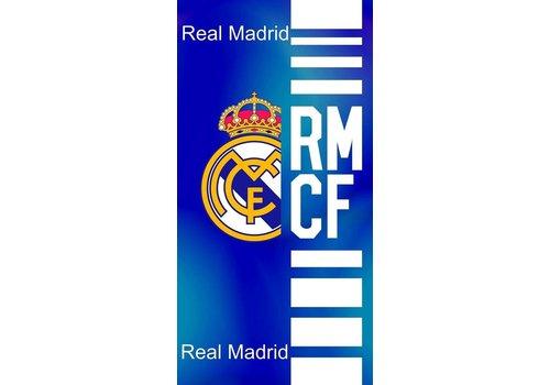 Real Madrid Badlaken real madrid blauw RMCF: 75x150 cm