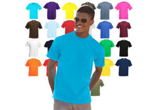 Fruit of the Loom T shirt Value Weight