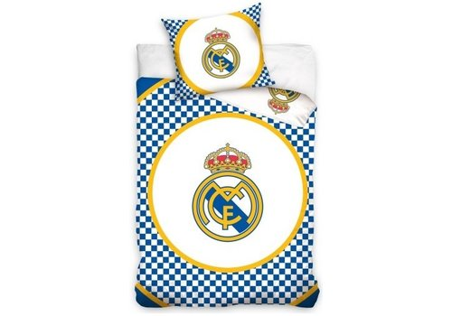 Real Madrid Dekbed real madrid checkers (RM8023): 140x200/70x80 cm