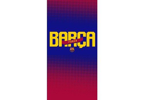 FC Barcelona Badlaken barcelona forza: 70x140 cm