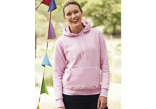 Fruit of the Loom Lady Hooded sweater