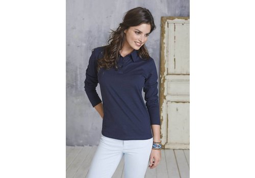 Kariban Ls Jersey Polo - Ladies's Long Sleeve Jersey Polo