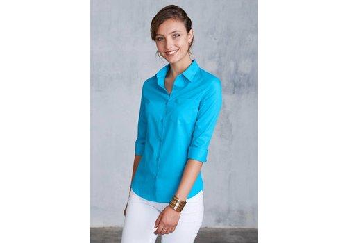 Kariban Ladies' 3/4 Sleeve Shirt