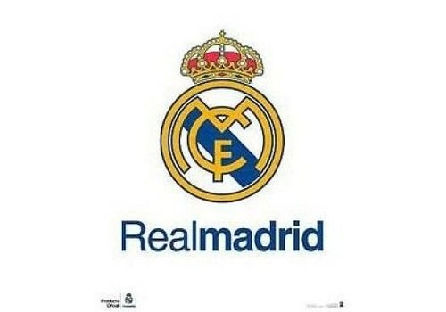 Real Madrid Poster real madrid 40x50 cm: logo (MP0015)