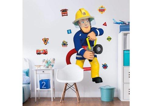 Brandweerman Sam Muursticker Brandweerman Sam Walltastic: 122 cm (443330)