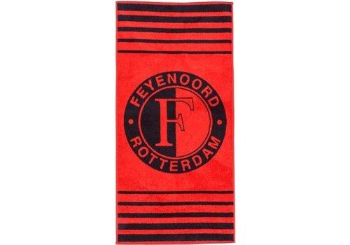 Feyenoord Handdoek feyenoord rood: 50x100 cm