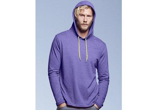 ANVIL Heren hooded T- shirt
