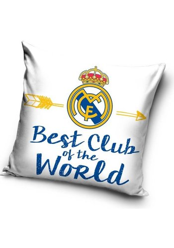 Real Madrid Kussen real madrid best club: 40x40 cm (RM16_3007)