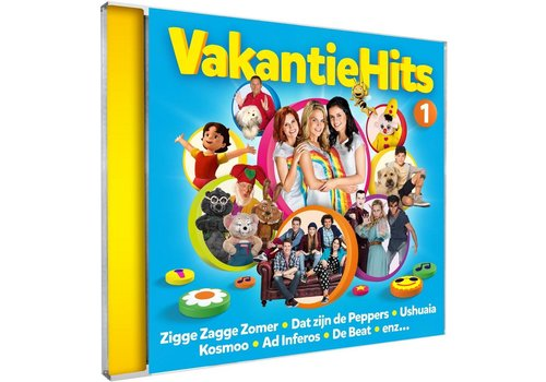 Cd Studio 100: vakantiehits vol. 1 (A678.020)