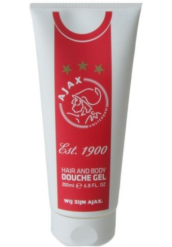 AJAX  Douchegel tube ajax wit/rood/wit: 200 ml