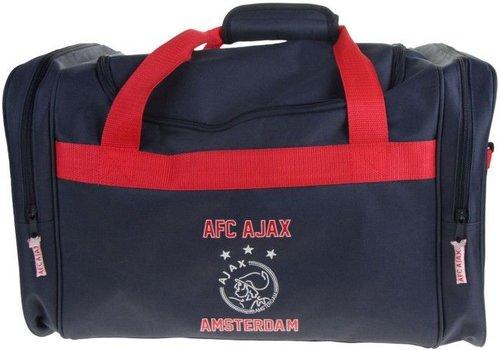 Ajax  Sporttas ajax blauw logo: 50x28x30 cm