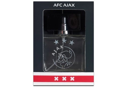 Ajax  Eau de toilette ajax rood/wit: 50 ml