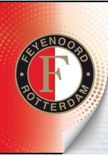 Feyenoord Schrift feyenoord dots A4 gelijnd (302443)