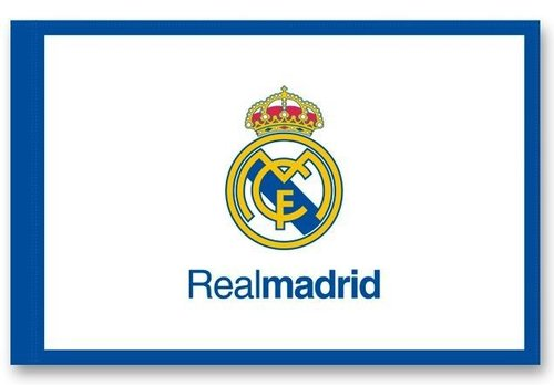 Real Madrid Vlag real madrid groot 150x100 cm logo (RM6BANG1)