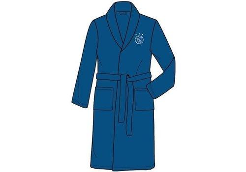 Ajax  Badjas ajax blauw met wit logo