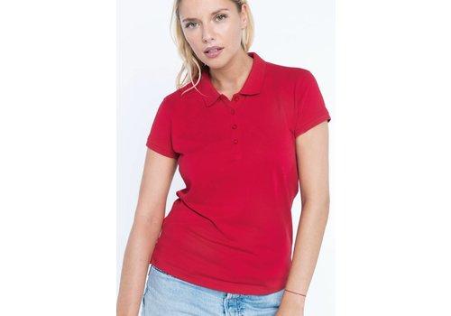 Kariban Ladies' piqué short sleeve polo shirt